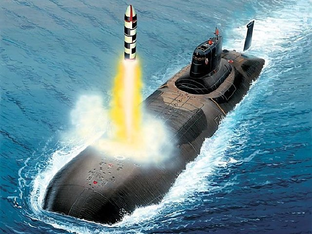 Dimensions submarine shark  The most powerful nuclear